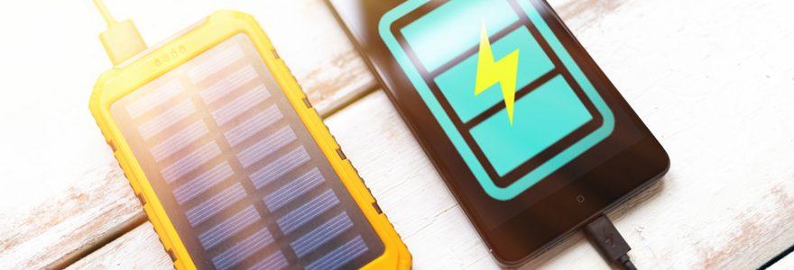 Chargeurs solaires pour portables