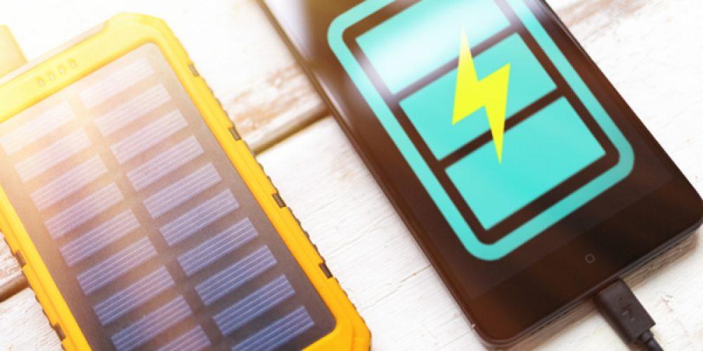 Chargeurs solaires pour portables : acheter en ligne