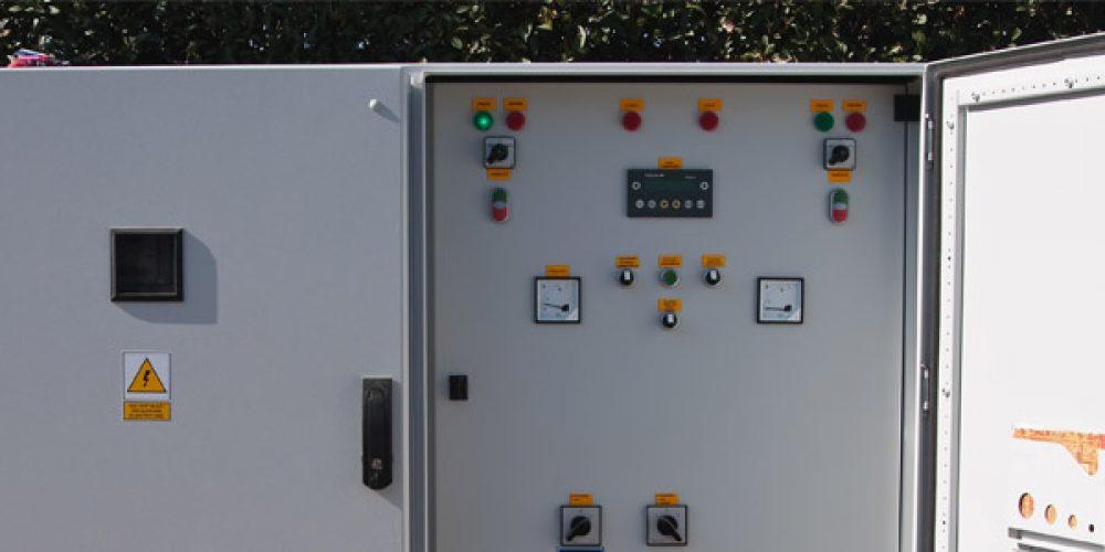 Le coffret électrique répond aux besoins électriques de chaque secteur