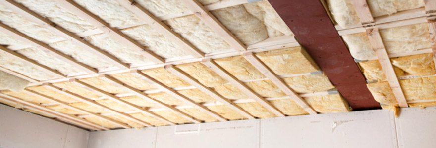 isolation des plafonds de vos sous-sols